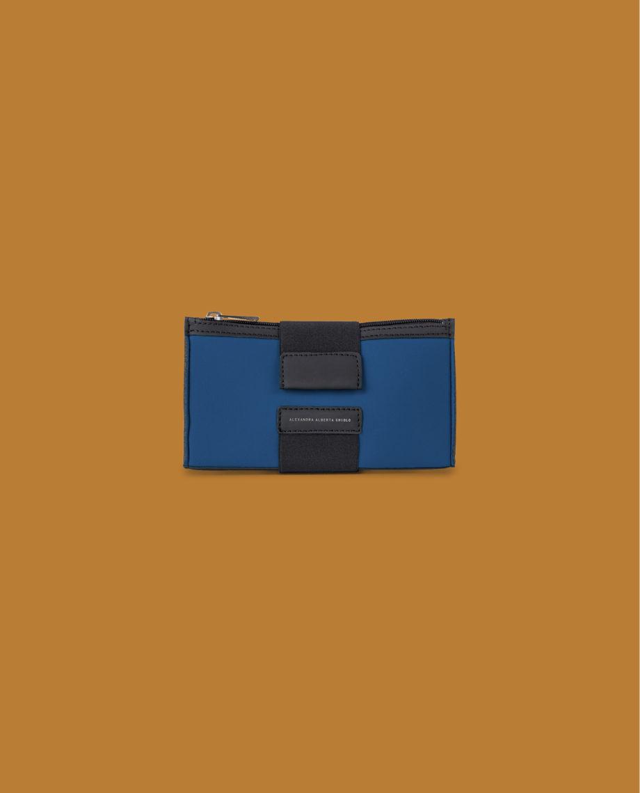Wallet Blu di Prussia