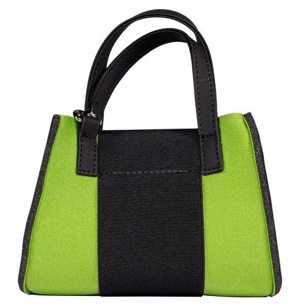 Lime Metal Micro Bag Alexandra Alberta Chiolo_Retro