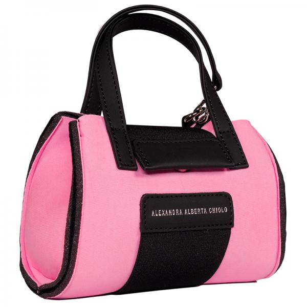 Magnifica Micro Bag Alexandra Alberta Chiolo_Tre_Quarti