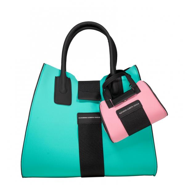 Micro Bag + Bag Alexandra Alberta Chiolo