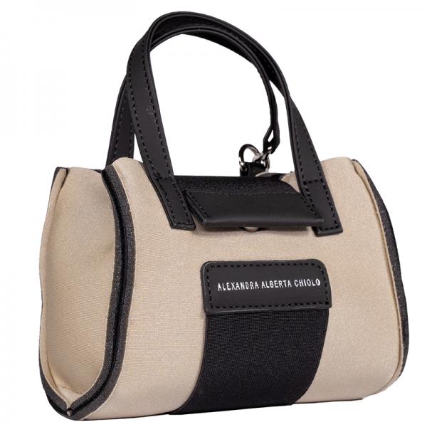 Seta Metal Micro Bag Alexandra Alberta Chiolo_Quarti